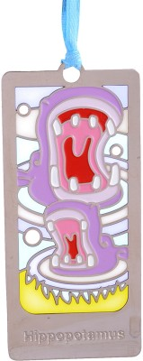 Temple Trees Hippopotamus Metal Bookmark Bookmark