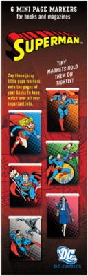 That Company Called if 92501 Wb Mini Page Markers (Dc) Bookmark(Superman, Multicolour)