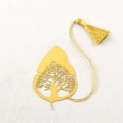 Capra Tree in Leaf Metal Bookmark