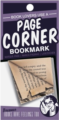 That Company Called IF Page Corners - Lovers Paper Bookmark