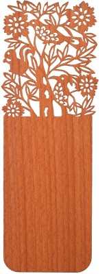 Temple Trees Birds Wooden Bookmark Bookmark