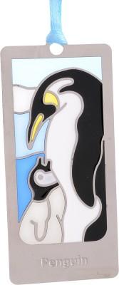 Temple Trees Penguin Metal Bookmark Bookmark