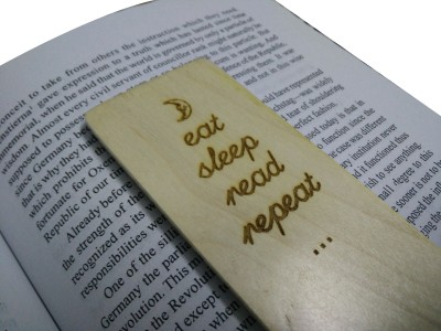 SLK Wood Products PF35A Laser Engraved Bookmark