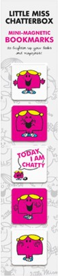 That Company Called If Little Miss Chatterbox - Mini Magnetic Bookmark
