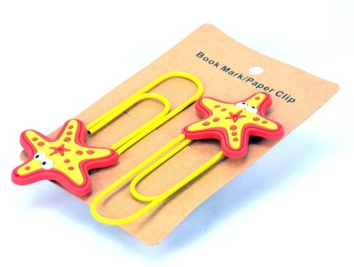 Enwraps Jellyfish 4 pcs Metal Clip Bookmark