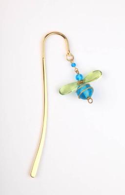 kanhai Bumble Bee Mini Metal Clip Bookmark