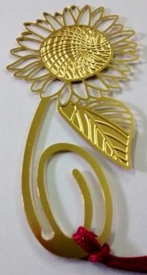 Temple Trees Sunflower Metal Bookmark Bookmark