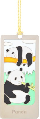 TEMPLE TREES PANDA Metal Bookmark(Animal, Multicolor)