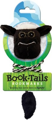 If by Chitra Tails - Sheep Metal Clip Bookmark