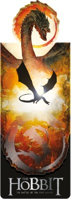 If by Chitra The Hobbit: Battle of the Five Armies - Smaug Magnetic Bookmark