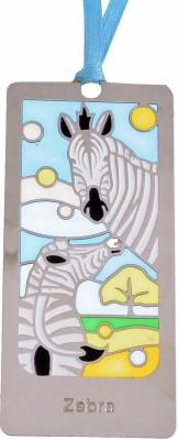Temple Trees Zebra Metal Bookmark Bookmark