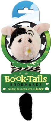 If by Chitra Tails - Cow Metal Clip Bookmark