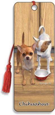 Om Book Shop Chihuahua 3D Bookmark