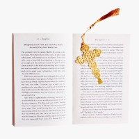 Khatte Meethe Desires Cross - Jesus Christmas Book mark Metal Clip Bookmark(Christmas, Golden) best price on Flipkart @ Rs. 199