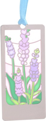 Temple Trees Flowers Purple Metal Bookmark Bookmark