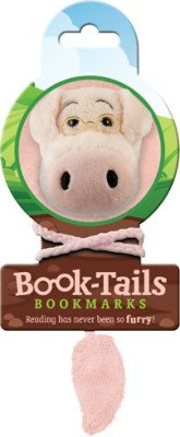 If by Chitra Tails - Pig Metal Clip Bookmark