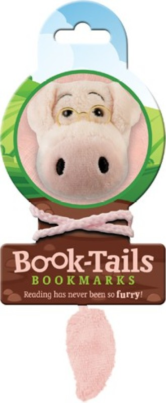 If by Chitra Tails - Pig Metal Clip Bookmark(Funky, Multicolor)