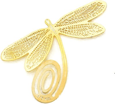 Studio Briana Gold-plated Dragonfly Bookmark Metal Clip Bookmark