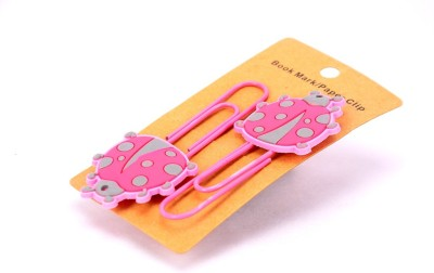 Enwraps Big Ladybird 4 pcs Metal Clip Bookmark