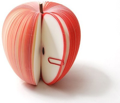 ARRA Fashion FruitNoteApple Paper Bookmark