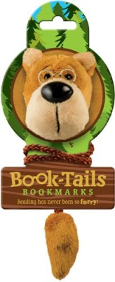 If by Chitra Tails - Bear Metal Clip Bookmark