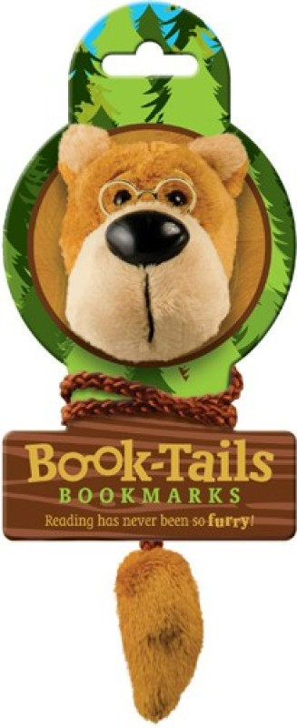 If by Chitra Tails - Bear Metal Clip Bookmark(Funky, Multicolor)