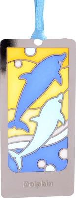 Temple Trees Dolphin Metal Bookmark Bookmark