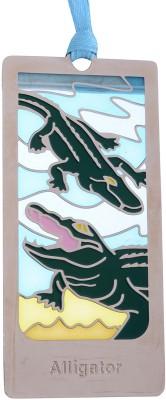Temple Trees Alligator Metal Bookmark Bookmark