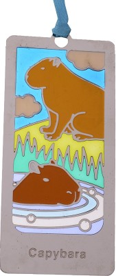 Temple Trees Capybara Metal Bookmark Bookmark