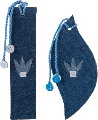 SG Bookmarks Jeans Fabric Mount Board Bookmark
