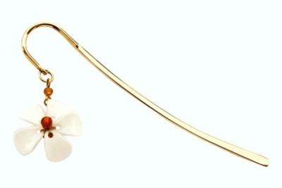 Kanhai Dainty Flower Clip Type Bookmark