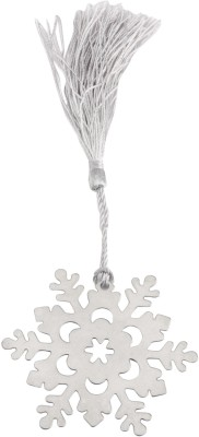 BABIES BLOOM Flake Metal Bookmark(FLAKE, Silver)
