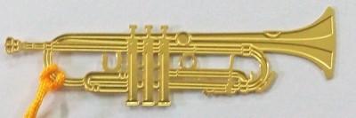 Temple Trees Trumpet Metal Bookmark Bookmark