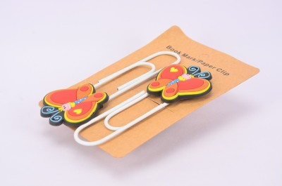Enwraps Butterfly Love 4 pcs Metal Clip Bookmark