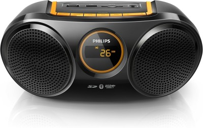 Philips AT10 Bluetooth USB Direct SD FM Digital Tuner Boom Box
