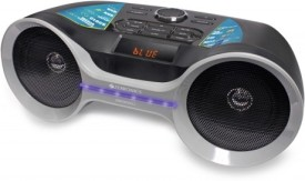 ZEBRONICS Bluetooth Speaker with Clock and FM Boom Box