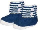 MFJ Blue Baby Booties Booties (Toe to He...