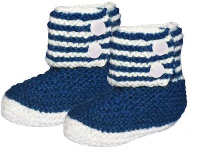 MFJ Blue Baby Booties Booties