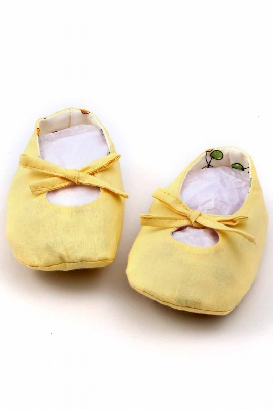 Mi Dulce An'Ya Booties(Toe to Heel Length - 12 cm Yellow)