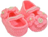 Graykart Pink booties,infant shoes, pre ...