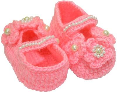 graykart Pink booties,infant shoes, pre Walker Booties