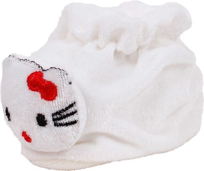 Ole Baby Cute Hello Kitty Soft Velvet Furry Friend Smiling Cartoon Booties