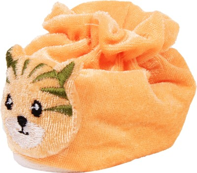 Ole Baby Cute Pussy Cat Soft Velvet Furry Friend Smiling Cartoon Booties