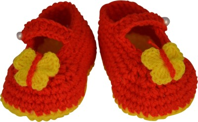 Graykart Knitted wool shoes Booties