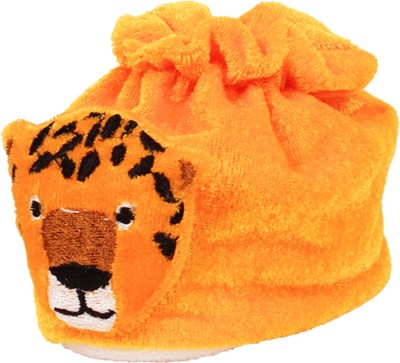 Ole Baby Cute Tiger Soft Velvet Furry Friend Smiling Cartoon Booties