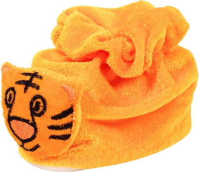 Ole Baby Funny Tiger Soft Velvet Furry Friend Smiling Cartoon Booties