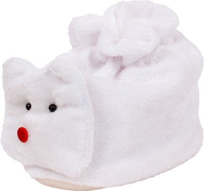 Ole Baby Snowy Man Soft Velvet Furry Friend Smiling Cartoon Booties