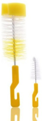 Blossoms Bottle Brush with Sponge and Nipple Cleaner