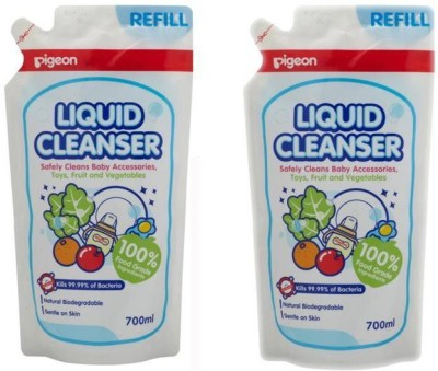 Pigeon Liquid Cleanser - 700ml (Refill) (Pack Of 2)