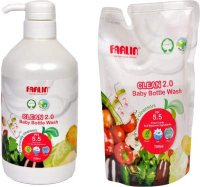 Farlin Natural Baby Liquid Cleanser(White)